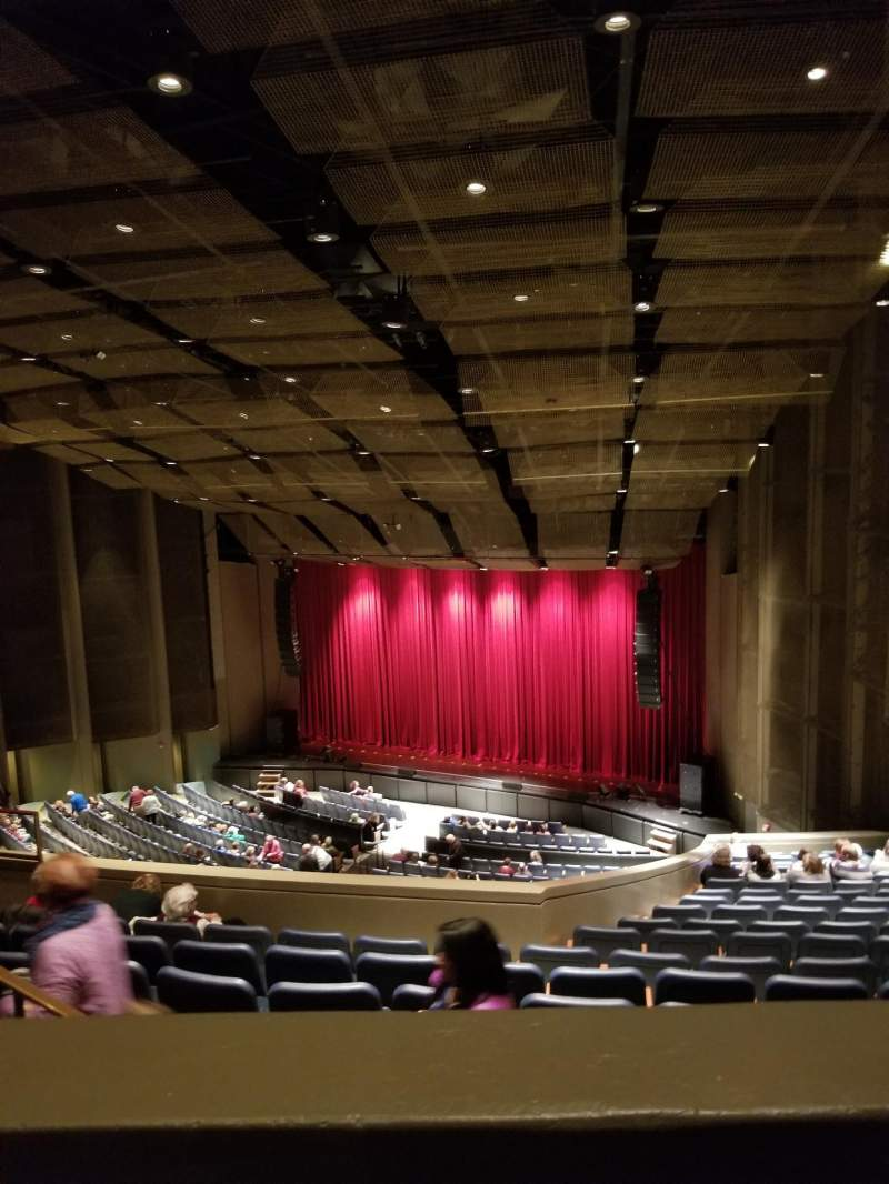 Seating view for Berglund Center Section Balcony Right Row R Seat 10
