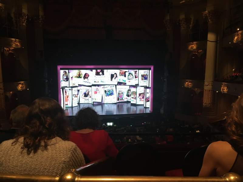 Seating view for Academy of Music Section Family Circle E Row A Seat 110
