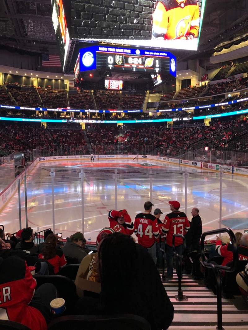 Seating view for Prudential Center Section 12 Row 10 Seat 1