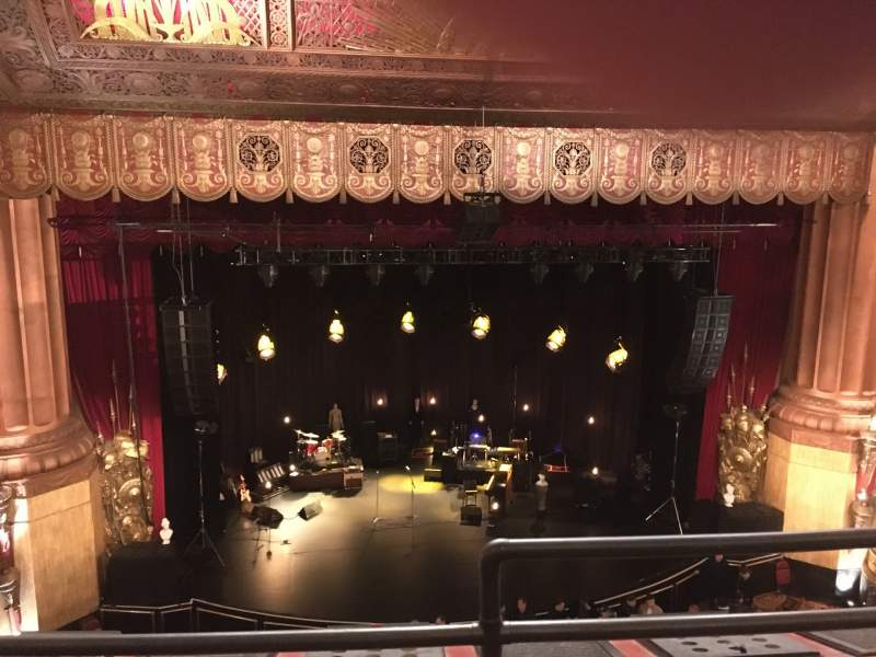 Seating view for Beacon Theatre Section Lower Balcony 1 Row B Seat 1
