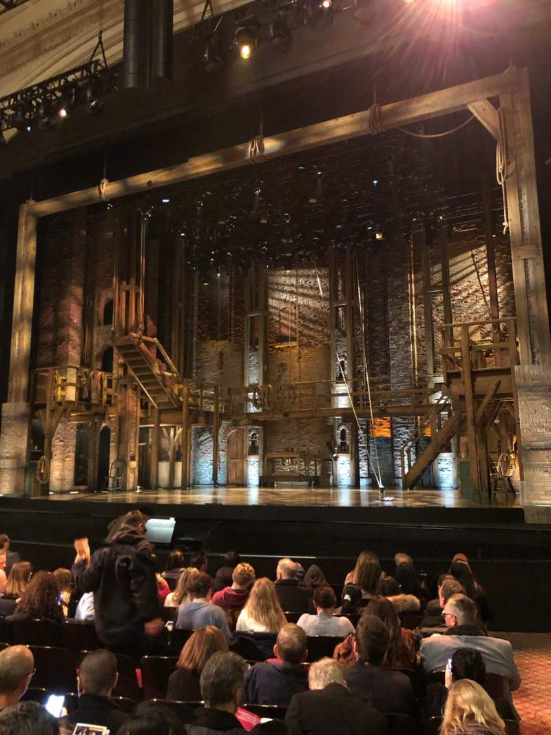 Seating view for Orpheum Theatre (San Francisco) Section Orchestra R Row M Seat 128