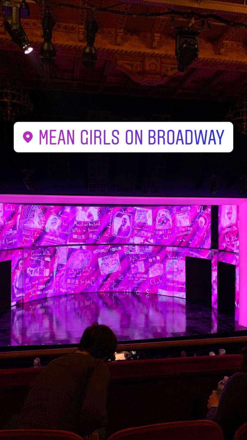 Seating view for August Wilson Theatre Section Mezzanine C Row C Seat 118