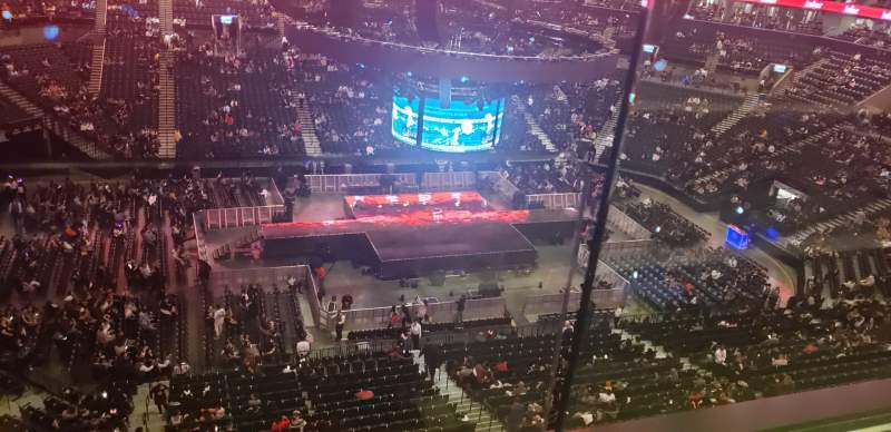 Seating view for Barclays Center Section 226 Row 1 Seat 1