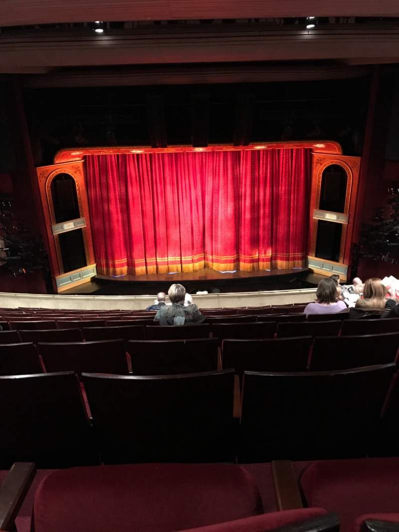 Seating view for Marquis Theatre Section Mezzanine C Row L Seat 107