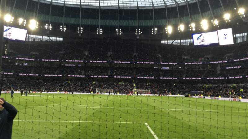 Seating view for Tottenham Hotspur Stadium Section 252 Row 4 Seat 199