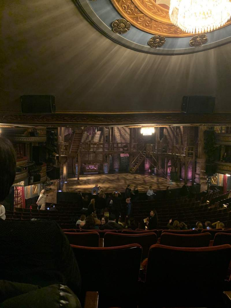 Seating view for Richard Rodgers Theatre Section Orchestra L Row U Seat 17