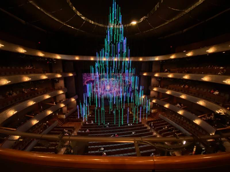 Seating view for Winspear Opera House Section DR C Row A Seat 26