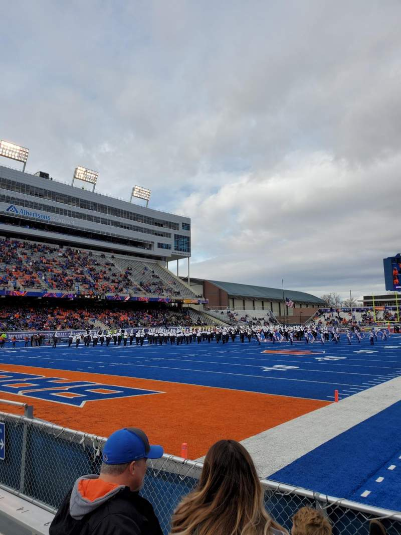 Seating view for Albertsons Stadium Section 31 Row D Seat 6