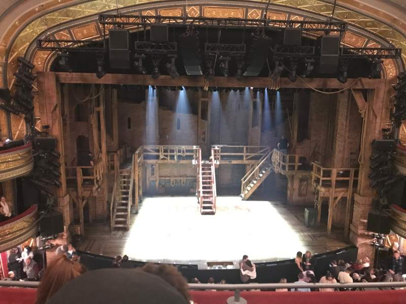 Seating view for Richard Rodgers Theatre Section Front Mezzanine C Row C Seat 111
