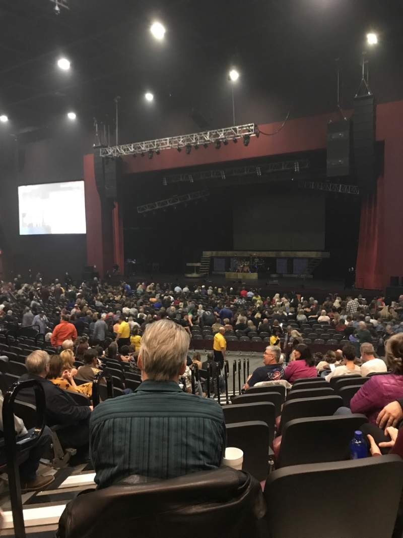 Seating view for Choctaw Grand Theater Section 202 Row Q Seat 18