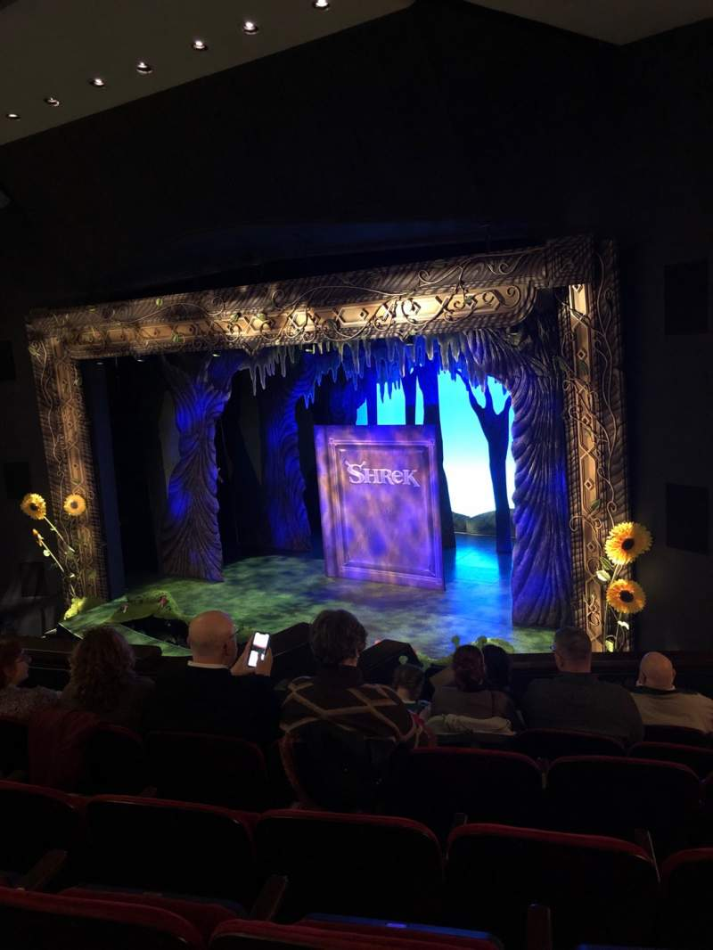 Seating view for Walnut Street Theatre Section Upper Mez Row G Seat 311