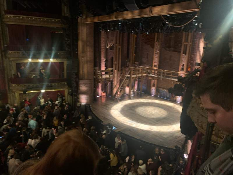Seating view for CIBC Theatre Section Mezzanine R Row B Seat 20