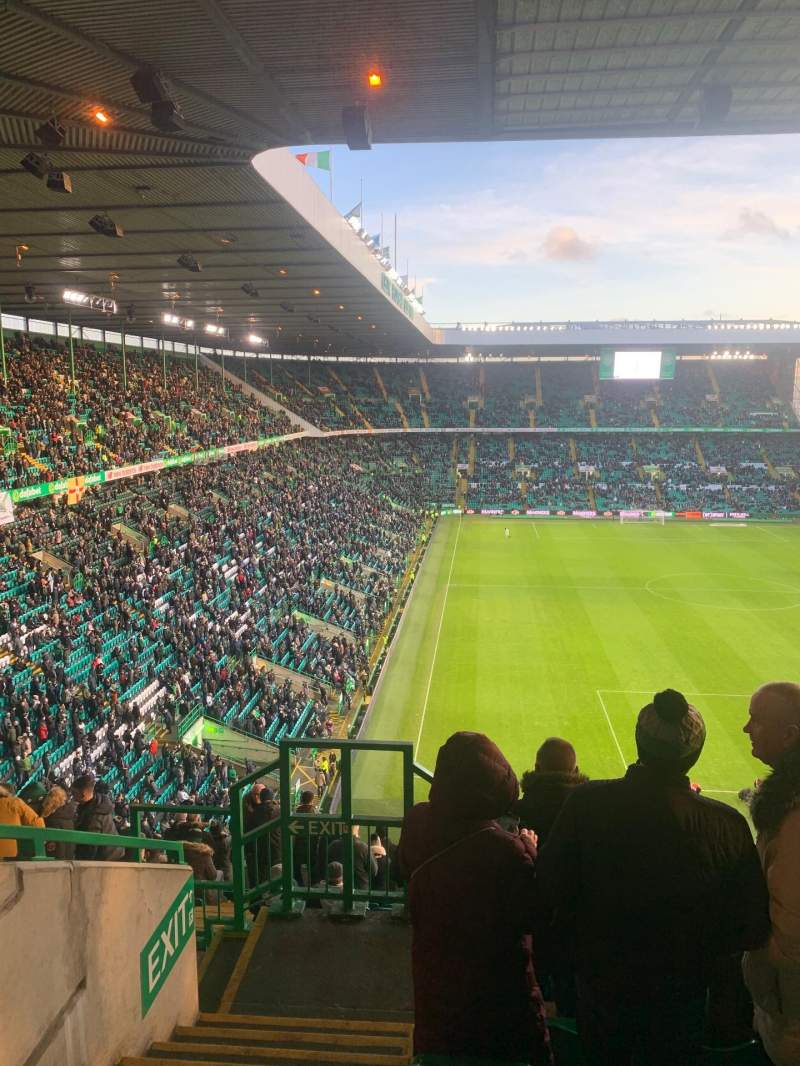 Seating view for Celtic Park Section 442 Row Q Seat 14