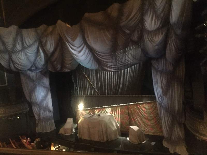 Seating view for Majestic Theatre Section Front Mezzanine R Row A Seat 12