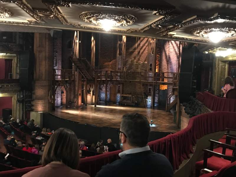 Seating view for CIBC Theatre Section Dress Circle R Row C Seat 8