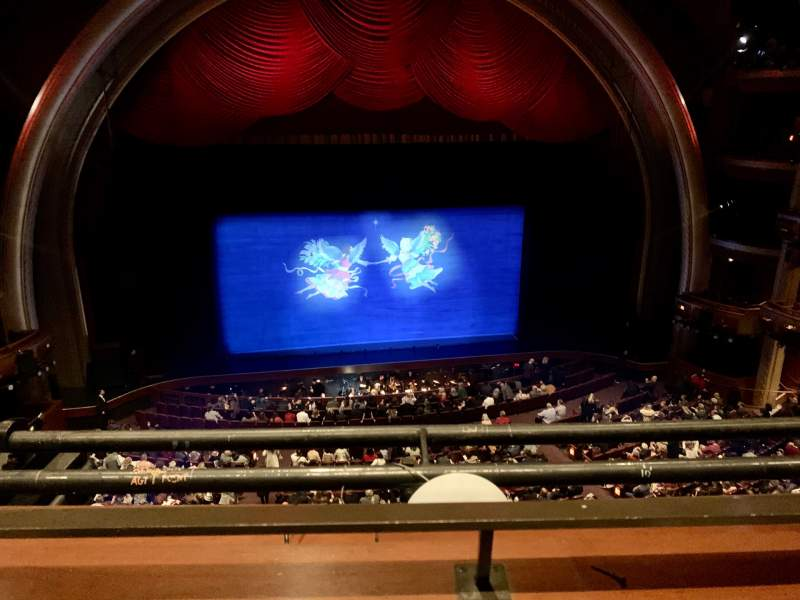 Seating view for Dolby Theatre Section Mezzanine 2C Row A Seat 20