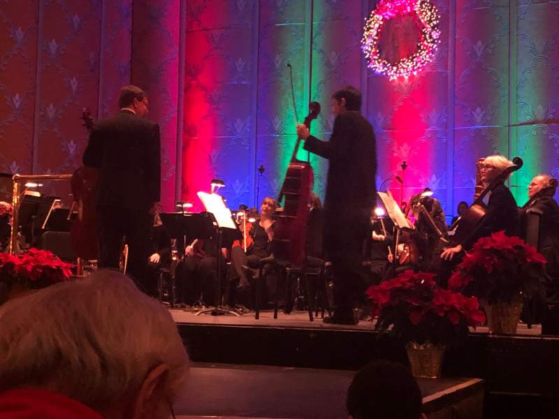 Seating view for Coronado Theatre Section ORCH1 Row D Seat 10