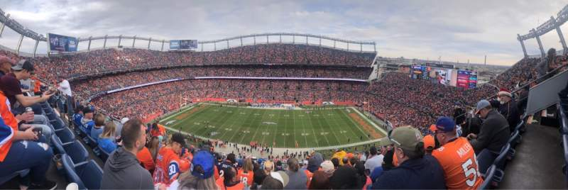 Seating view for Empower Field at Mile High Stadium Section 507 Row 15 Seat 7