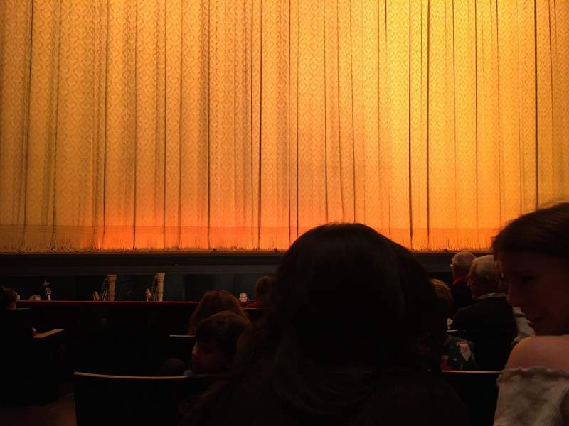 Seating view for David H. Koch Theater Section Orchestra Row E Seat 102