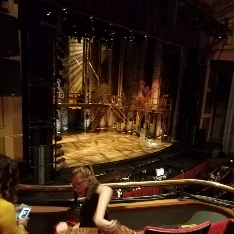 Seating view for Murat Theatre at Old National Centre Section Royalty L Row C Seat 5