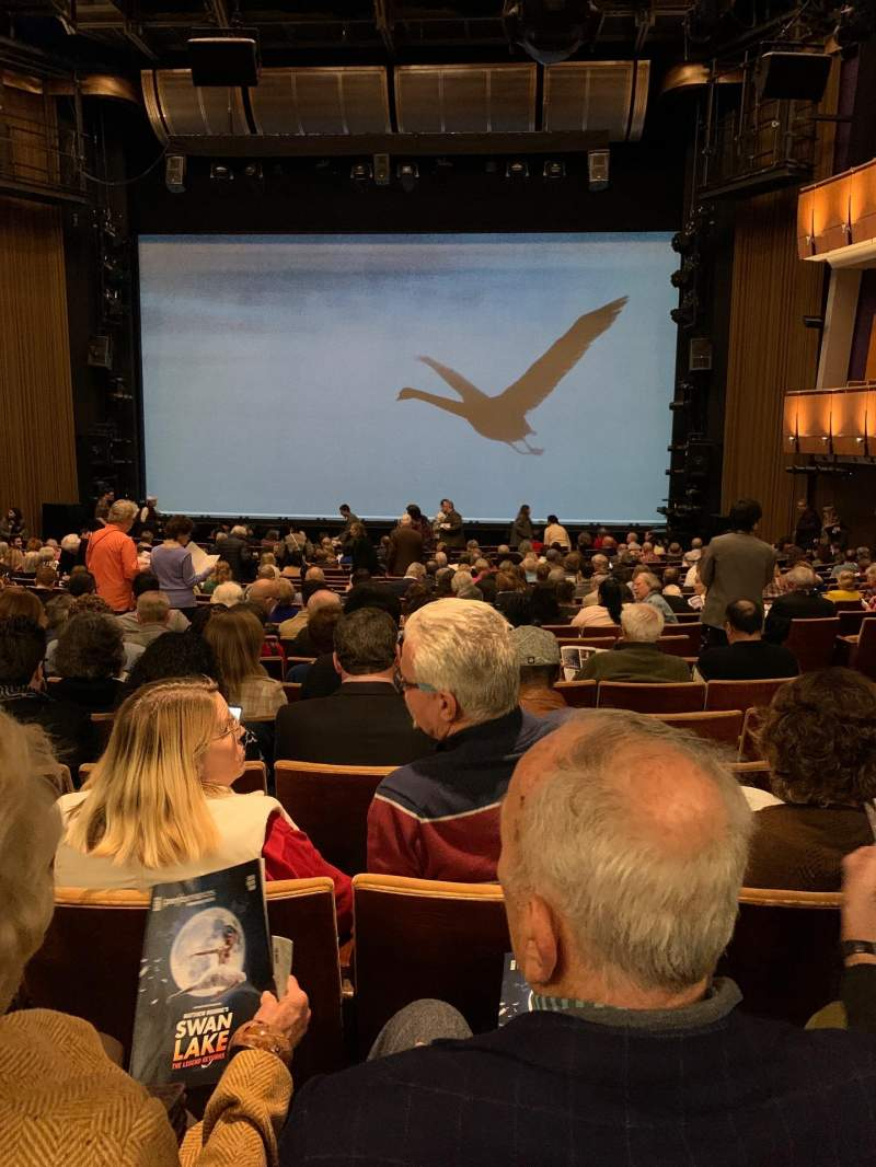 Seating view for Ahmanson Theatre Section Orchestra Row U Seat 23