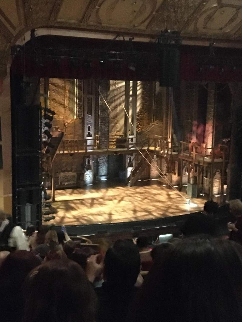 Seating view for Murat Theatre at Old National Centre Section Balcony L Row P Seat 10