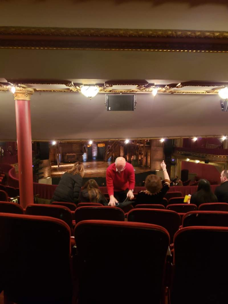 Seating view for CIBC Theatre Section Dress Circle L Row H Seat 227