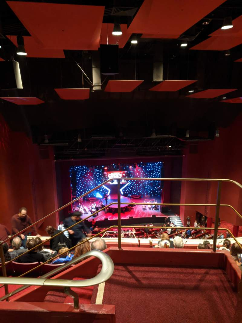 Seating view for San Diego Civic Theatre Section Balcony L Row W Seat 15
