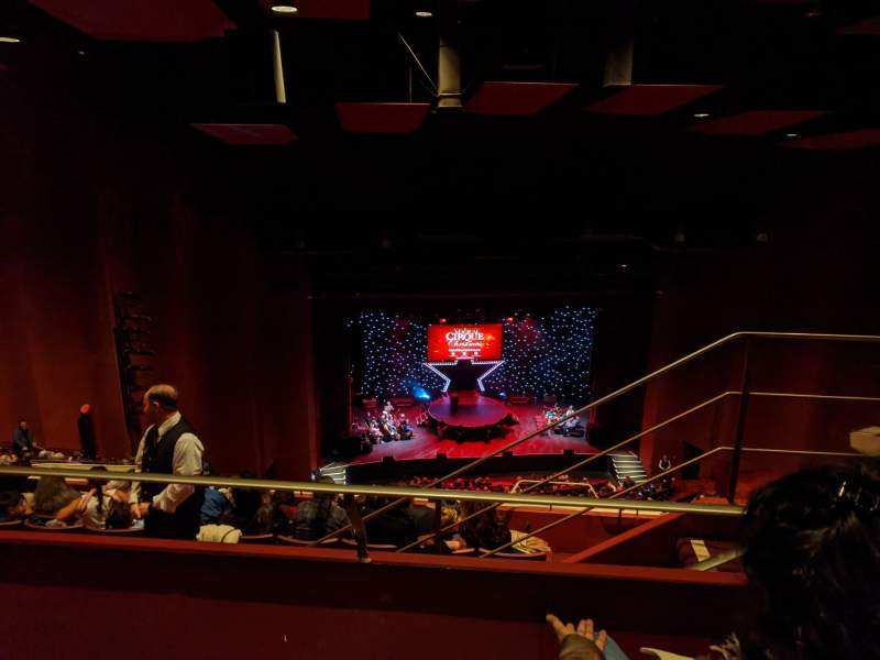 Seating view for San Diego Civic Theatre Section Balcony L Row W Seat 19