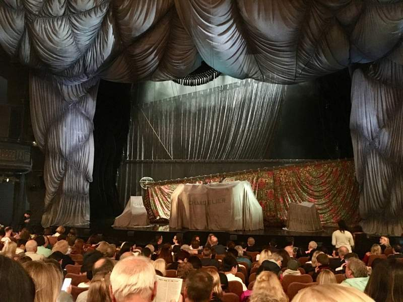 Seating view for Majestic Theatre Section Orchestra C Row K Seat 111