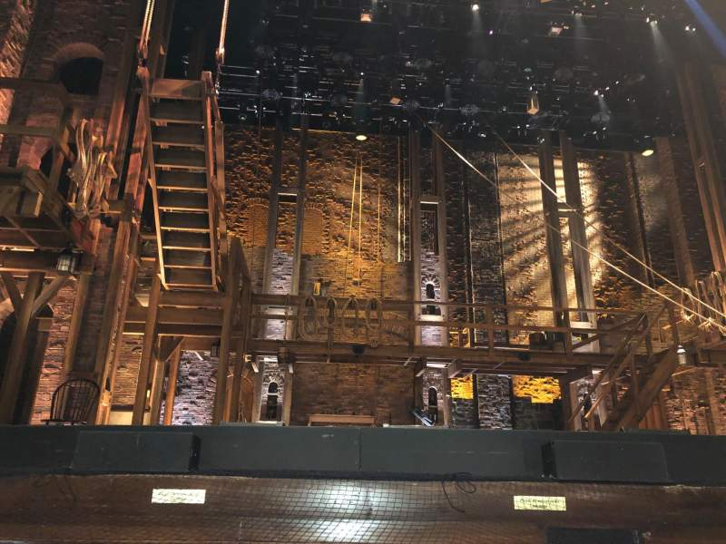 Seating view for Murat Theatre at Old National Centre Section Orchestra C Row A Seat 8