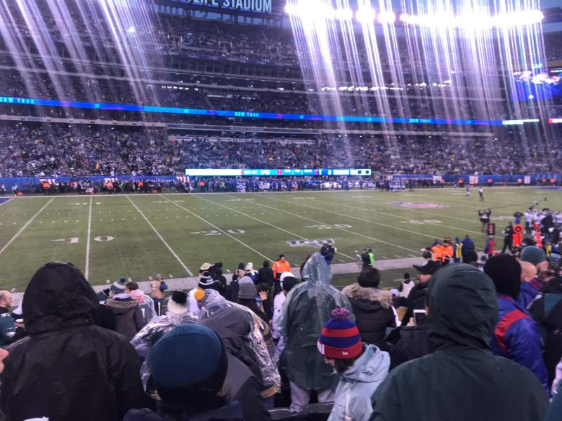 Seating view for MetLife Stadium Section 142 Row 12 Seat 28