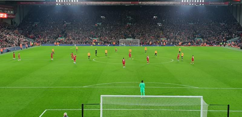 Seating view for Anfield Section 125 Row 29