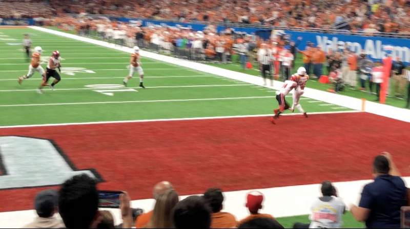 Seating view for Alamodome Section 144 Row 4 Seat 16