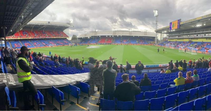 Seating view for Selhurst Park Section T Row 14 Seat 74