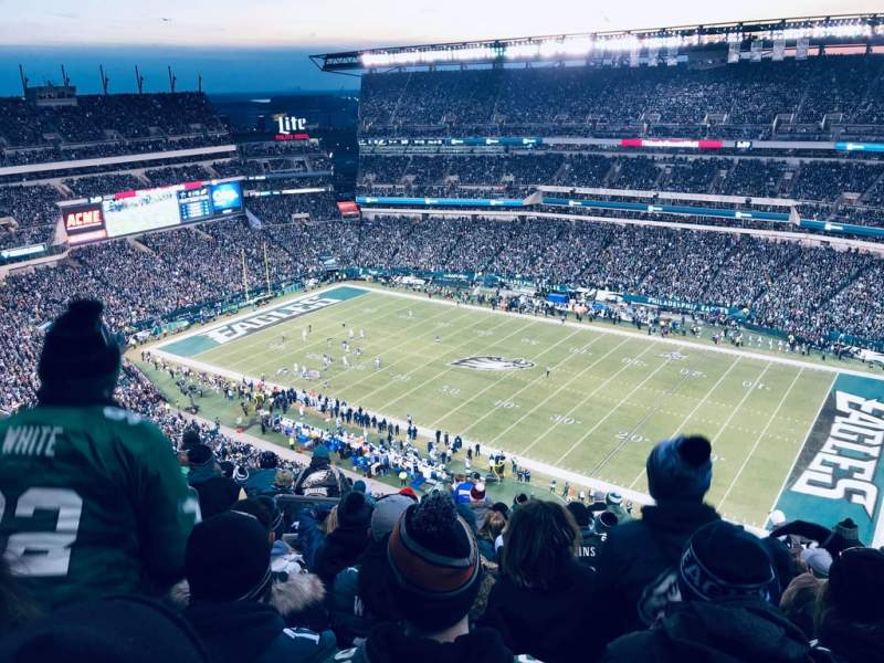 Seating view for Lincoln Financial Field Section 229 Row 23 Seat 25-26