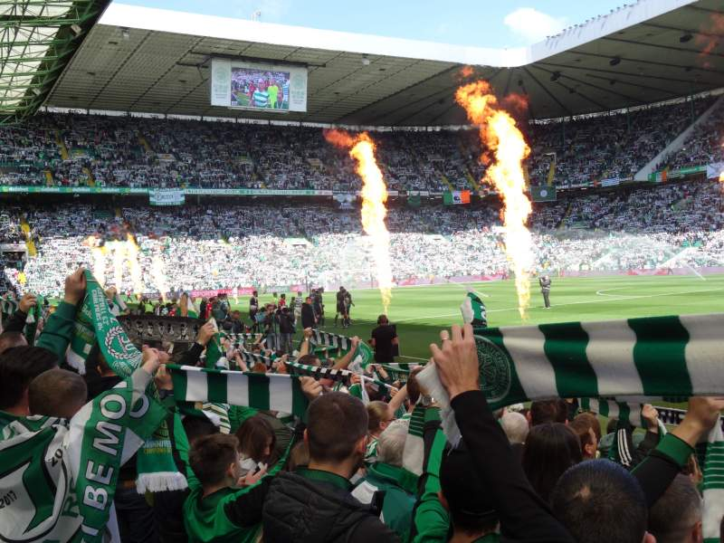 Seating view for Celtic Park Section FS6 Row 10