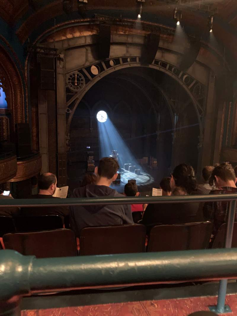 Seating view for Curran Theater Section Mezzanine L Row A Seat 11