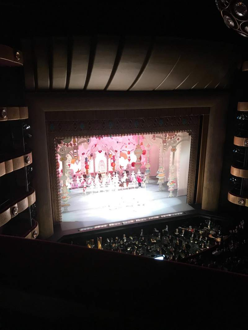 Seating view for David H. Koch Theater Section 4th ring Row A Seat 21