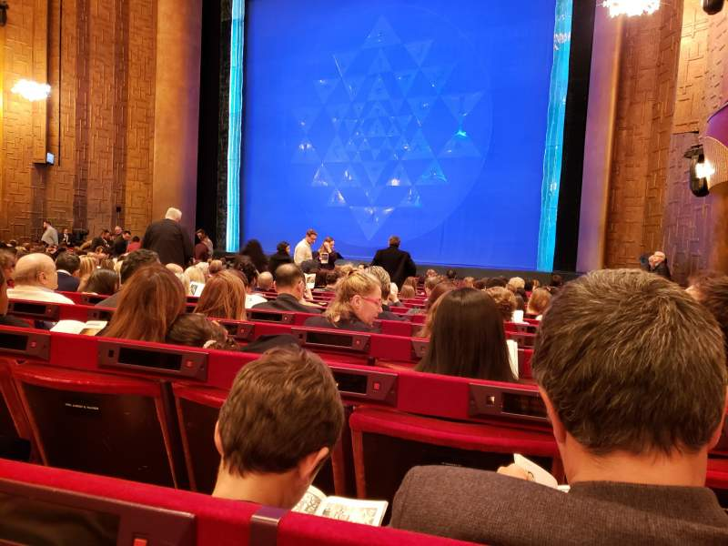 Seating view for Metropolitan Opera House - Lincoln Center Section Orchestra Row O Seat 20