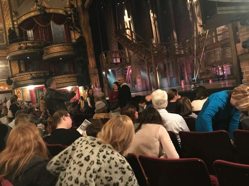 Seating view for Richard Rodgers Theatre Section Orchestra R Row E Seat 24