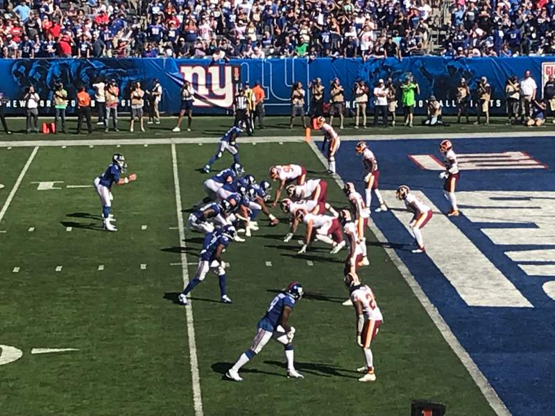 Seating view for MetLife Stadium Section 134 Row 20 Seat 28