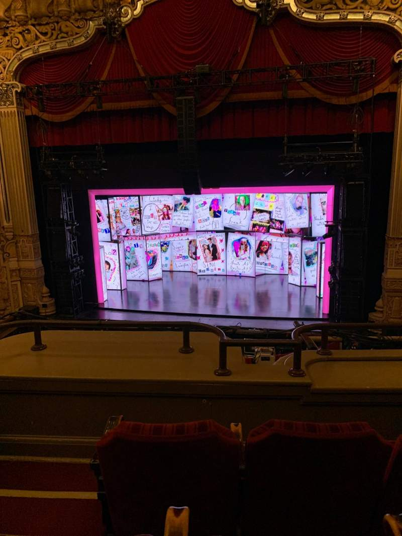 Seating view for James M. Nederlander Theatre Section Loge RC Row C Seat 322