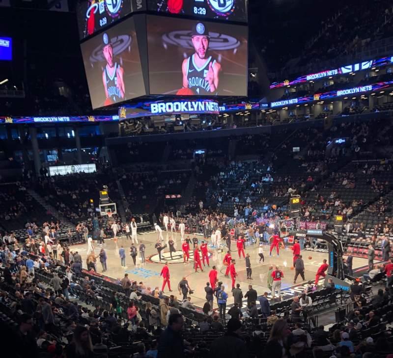 Barclays Center - Interactive basketball Seating Chart