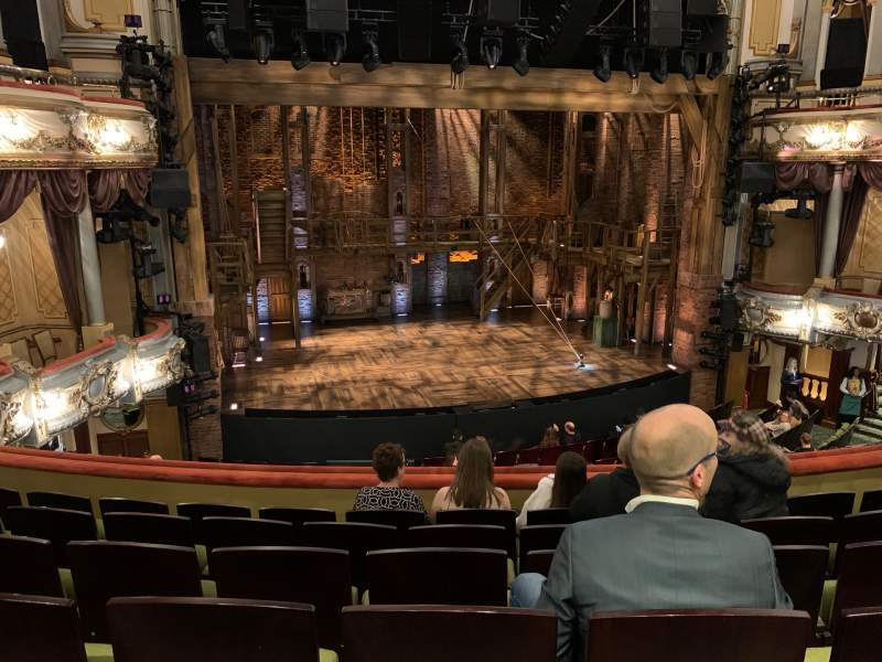 Seating view for Victoria Palace Theatre Section Royal Circle Row F Seat 30