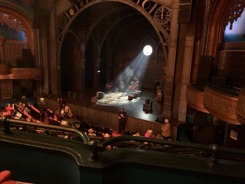 Seating view for Curran Theater Section Loge Row B Seat 20