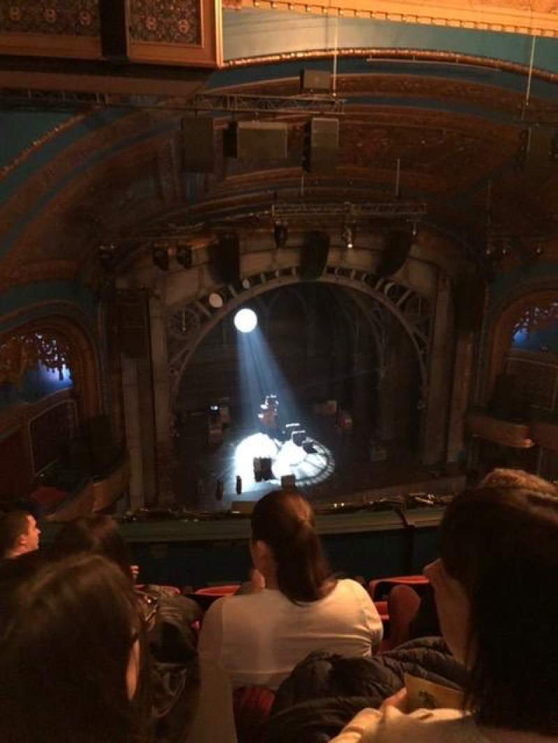 Seating view for Curran Theater Section Balcony Row E Seat 11