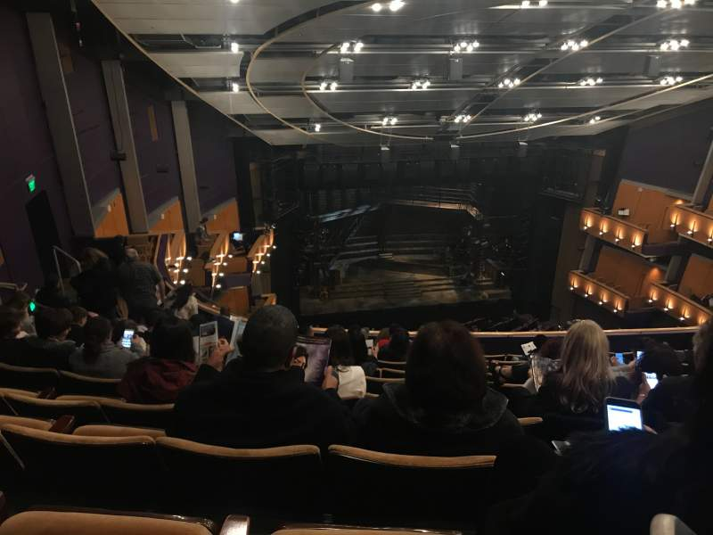 Seating view for Ahmanson Theatre Section Balcony Row K Seat 39