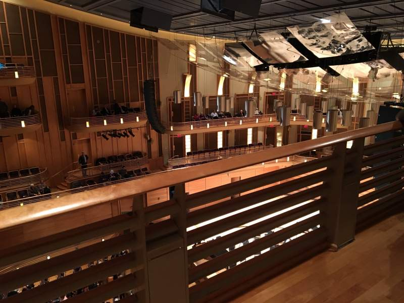 Seating view for The Music Center at Strathmore Section Upper Tier Right Bix Row Box 2 Seat 5
