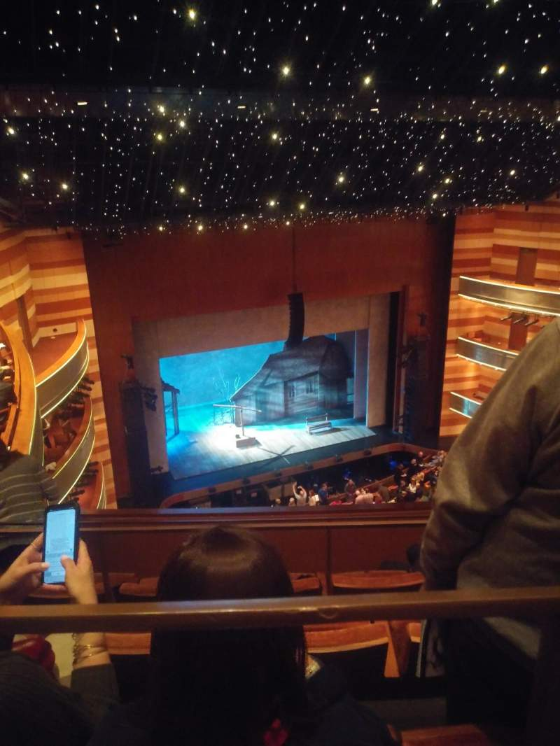 Seating view for Eccles Theater Section 3TL Row D Seat 48